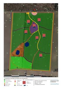 Disponeringsplan for Permakultur v. gulsangerhøj 1